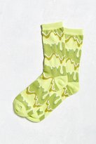 Urban Outfitters Slime Crew Sock
