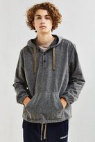 Urban Outfitters Flecked Hooded Flannel Shirt