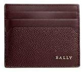 Bally Textured Calf Leather Card Case