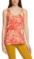 Ichi Women's Short Sleeve Vest - -