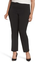 Vince Camuto Plus Size Women's Stretch Twill Seamed Pants