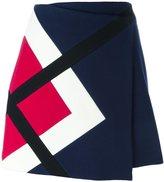 MSGM panelled skirt