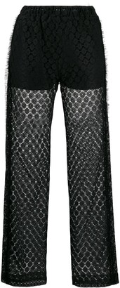 Viktor & Rolf Lace Up trousers