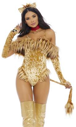 Forplay Women's A Scaredy Lion Sexy Movie Character Costume