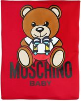 Moschino Doubled Cotton Jersey Padded Blanket