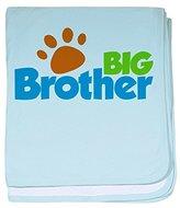 CafePress - Paw Print Dog Big Brother - Baby Blanket, Super Soft Newborn Swaddle