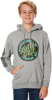 Santa Cruz Kids Boys Original Dot Pop Hood Grey