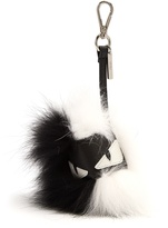 Fendi Bag Bugs pompom fur key charm