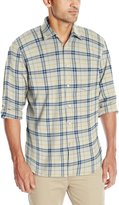 Izod Men's Long Sleeve Button Down Oxford Woven Stylish Shirt