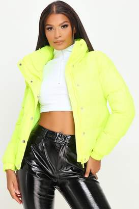 I SAW IT FIRST Oversized Funnel Neck Padded Jacket