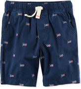 Carter's Graphic-Print Pull-On Shorts, Little Boys (2-7)