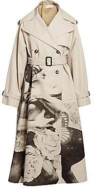 Valentino Women's Lovers Printed Trench Coat