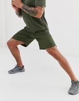 Nike Training Flex 2.0 woven shorts in khaki