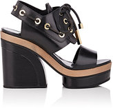 Pierre Hardy Women's Deck Leather Platform Sandals