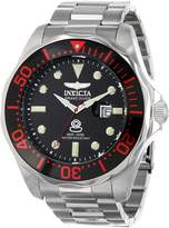 Invicta Men's 14652 Pro Diver Analog Display Swiss Quartz Silver Watch