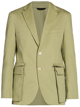 Fendi Zip-Off Pocket Sportcoat
