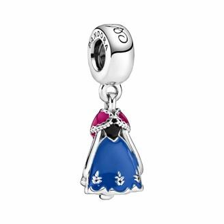 Pandora Disney Frozen Annas Blue Dress Charm