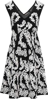 Zac Posen Floral-jacquard Dress