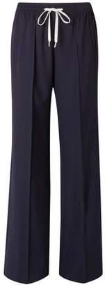 Miu Miu Stretch-wool Woven Straight-leg Pants
