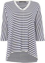 Oui Oversized stripe jumper