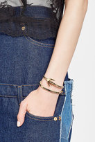 McQ by Alexander McQueen Swallow Leather Bracelet