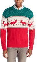 Alex Stevens Men's Reindeer Sweater