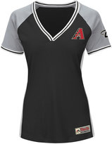 Majestic Women's Arizona Diamondbacks League Diva T-Shirt