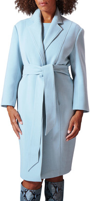 Toccin Belted Cocoon Coat