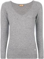 Fay embellished pocket jumper - women - Viscose/Cashmere/Wool - S