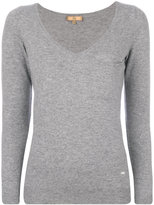 Fay embellished pocket jumper - women - Viscose/Cashmere/Wool - XS