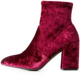 Charlotte Russe Qupid Pointed Toe Ankle Booties
