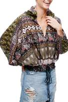Free People Hold on Tight Gauze Pullover