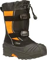 Baffin Eiger Youth Snowmobile Boots Black/Orange 8