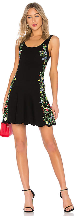 Alice + Olivia Dacia Fit Flare Dress