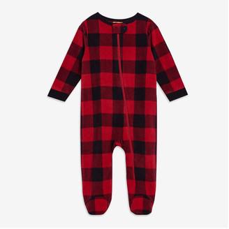 Joe Fresh Baby Footed Sleeper, Black (Size 3-6)