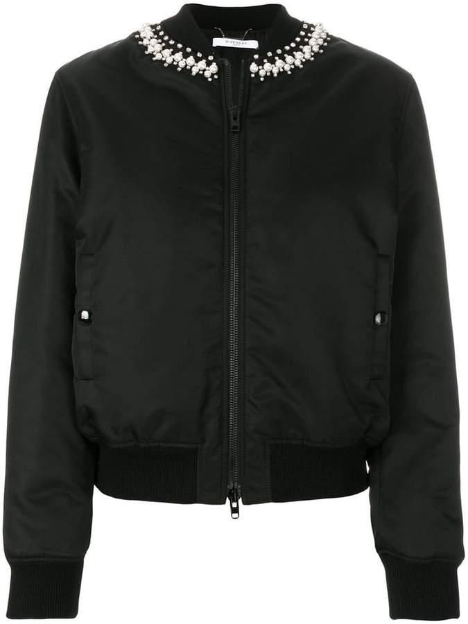 Givenchy embellished bomber jacket