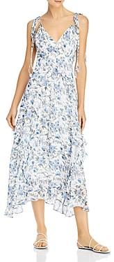 Rebecca Taylor Esmee Ruffled Midi Dress