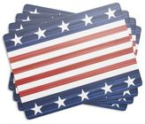 Sur La Table Stars and Stripes Cork-Backed Placemats, Set of 4