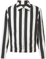 Enfants Riches Deprimes striped canvas jacket - unisex - Silk - S