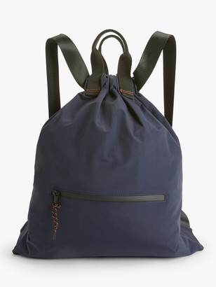 KIN Nylon Drawstring Backpack