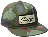 Poler Men's Unstructured Snapback Script