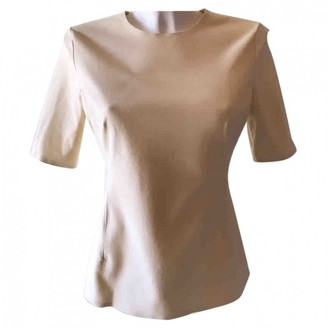 Theory Beige Cotton Top for Women