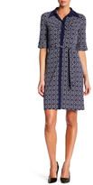 Laundry by Shelli Segal Printed Button Down Dress