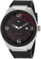 Tommy Hilfiger Men's 1790807 Sport Silicon and Stainless Steel Watch