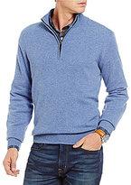 Daniel Cremieux Signature Cashmere Quarter-Zip Pullover
