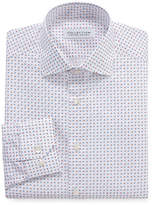 Collection by Michael Strahan Wrinkle Free Cotton Stretch Mens Spread Collar Long Sleeve Wrinkle Free Stretch Dress Shirt