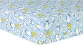 TREND LAB, LLC Trend Lab Snow Pals Blue Flannel Crib Sheet