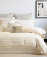 "DKNY Loft Stripe Chalk 12"" x 12"" Decorative Pillow"