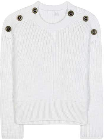 Chloé Embellished wool sweater