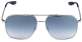 Barton Perreira 60MM Square Aeronaut Sunglasses